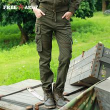 FREEARMY Brand Woman Tactical Pants Military Cargo Pants Multi-pockets Women long Pants Casual Trousers Army Pants with Drawstring GK-928A
