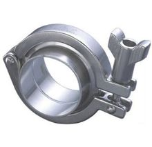 Stainless Steel Sanitary Heavy Duty Tri Pipe Clamp Fittings