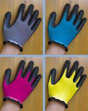 oated Grip Gloves Work Oil Resistance Gloves
