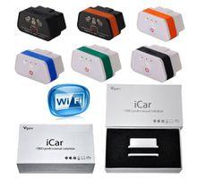 original vgate icar2 ELM327 Wifi iCar 2 Self-diagnosis OBD2 obdii IOS iphone ipad second generation detector