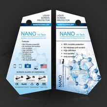 Invisible Nano liquid screen protector for mobile phone tablet and smartwatch Film