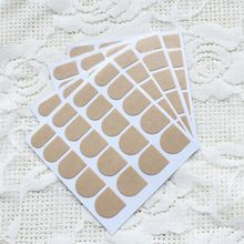 Free Shipping 24grain Nail Double-sided Adhesive Transparent Thin Section Waterproof Adhesive Stick Tool Nail Art 100piece Nail Products