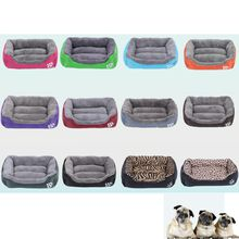 Wholesale New Indoor Home Cushion Cute Pets Small Large Soft Warm Cats Puppy Dogs Beds Kennel Mat Pads