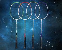 100% carbon badminton racket,high quality graphite fibre materials,in couple/lover designs,model name SEASON with four colors for choice