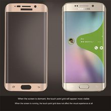Top Sale Factory Price Tempered Glass Screen Protector Film for Samsung Galaxy S7 Full Curved Clear Screen Protector