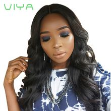 VIYA Unprocessed Human Hair Body Wave Indian Virgin Hair 3 Bundles Natural Color WY831H
