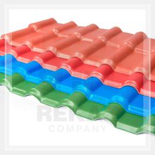 Durable artificial anti-corrosion new technology composite synthetic resin asa coated upvc roofing sheet tiles for polycarbonate
