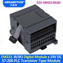EM223 6ES7 223-1BH22-0XA0 Suitable Siemens S7-200 PLC 8I/8O Transistor Type Digital Module 223-1BH22-0XA0