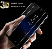 For Samsung Galaxy S8 Tempered Glass Film Screen Protector For Samsung Smart Phone 9H Full Cover Screen protective Film