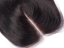 Hair Closure Brazilian Hair Lace Closure 8-20inch Straight Closure Natural Color With Bleached Knot