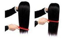 Hair Lace Closure 8-20inch Straight Closure Natural Color With Bleached Knot