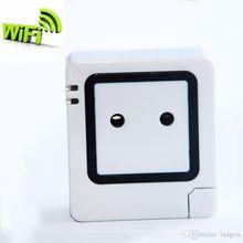 Router Socket Smart Monitor invigilator Watcher WiFi Wireless Smart Power Strip Sockets EU US Plug