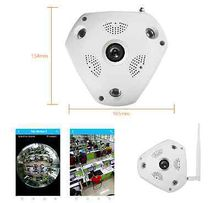 2017 Newest 360° Panorama VR Camera HD 1080P Fisheye 3D VR Panorama Wireless Wifi Home Security Surveillance System Hidden Webcam CCTV