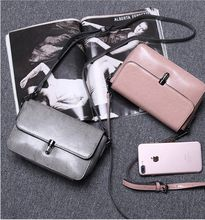 2018 Promotion Real New Arrival Shoulder Bags Foreign Trade 2017 Spring And Summer Lady Leather Messenger Bag Handbag Small All-match Trend