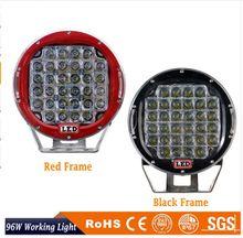 9inch 96W LED Work Light Tractor Truck 12v 24v IP67 SPOT Offroad LED Drive light LED Worklight External Light
