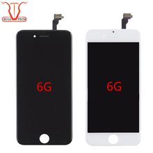Grade A +++ Shenchao LCD Display Touch Digitizer Complete Screen with Frame Full Assembly Replacement for iPhone 6 iphone6