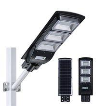 Solar Street Lights 60W 90W Light Control and Radar Sensor Waterproof Outdoor Street Light Wall Street Light Outdoor Wall Lamp Security Spot