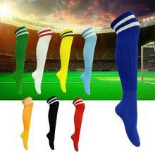 Wholesale Men Stockings Knee High Football Socks Fashion VS Socks Sports Football Cheerleaders Socks Cotton Sports Socks