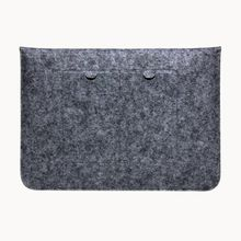 Fashion Wool Felt Bag Laptop Envelope Sleeve Cover Case Protective Pouch For Macbook AIR RETINA 11 12 13 15 inch Multifunction Bag