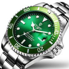 Classic Business Glow Water Ghost Aaa Watch Men's Luxury Automatic Mechanical Sports Steel with Waterproof Designer Watch