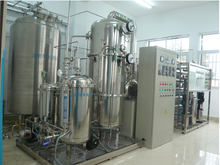 Distilled water machine system