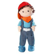 wholesale cute cotton stuffed plush rag doll with novel design