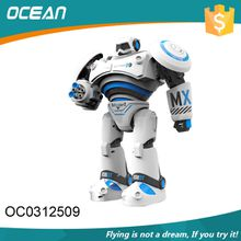 Full function smart walking remote control robot toy with light sound