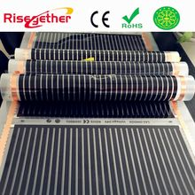 Far infrared floor carbon heating film systems