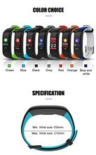 P1 Plus Color Display Heart Rate Monitor Blood Pressure Smart Watches Fitness Bracelet Activity Tracker Smart Wristband GIFT