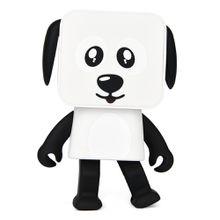 Wireless LoudSpeaker Bluetooth Dance Robot Dog Speaker Stereo Super Bass Portable Speaker Hands-free Kid's Gift