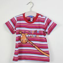 Cotton Baby Boys Sleeve T-shirt Kids Stripe Shirt Kids Girls Boys Sleeves T-Shirt Top Clothing Frozen Gift Party