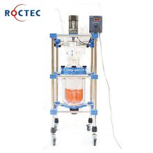 Chemical 5L double layer jacketed glass reactor with good price