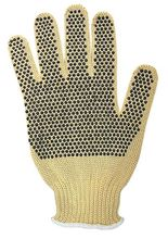 t does not allow even non-hazardous liquids to penetrate the material. Many chemical resistant glove