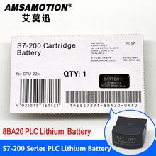 Good Quality Amsamotion Battery 6ES7291-8BA20-0XA0 Suitable Siemens S7-200 PLC 2V Lithium Battery Card With Free shipping
