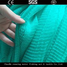 Running Water High Quality 380D 280D Green Color HDPE Fishing Nets