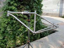 Supply titanium mountain bike frame 14''~21''