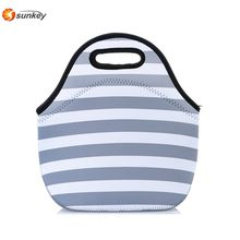 Neoprene Lunch Bag Tote Cooler School Work Office Lunch Bag