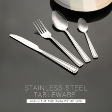 Restaurant french tableware stainless steel cutlery flatware set