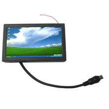 7 Inch Metal Cover VGA Touch Screen Monitor for Industrial PC ,HL700B ipc ,pos ,mini-itx pc display