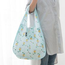 Wholesale environmental protection shopping bag can fold large capacity waterproof bag bag carrying bag.