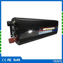 YENTL LCD display UPS inverter modified sine wave 5000W(10000w peak)12v to 220v Inverter UPS Quiet Fast Charge power car battey charger