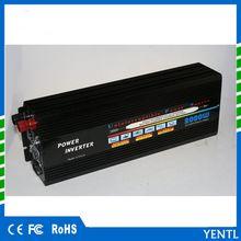 yentl digital display car inverter 12v 220v 2000w (peak power 4000w) off grid modified sine wave power inverter for camping home trip travel