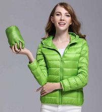 Winter Spring Women 90% White Duck Down Jacket Woman Hooded Ultra Light Down Jackets Warm Outdoor Hooded Portable Coat Parkas Outwear Female