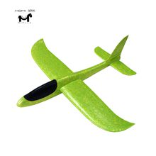 EPP foam toys hand throwing hand launch glider airplane for kids outdoor toy 48cm size stunt flying