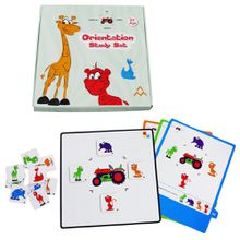 Orientation Study Set Happy Play Toy Kid Wholesale Education Toy for Children 2-6 Years Old Gift Children Play Game