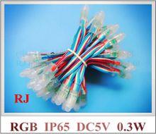 LED module light RGB LED exposed light string LED backlight channel letter LED pixel light module DC5V 0.3W RGB IP66 12mm CE