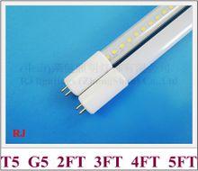AC 85V-265V input T5 G5 LED tube lamp light T5 LED tube 0.6M 0.9M 1.2M 1.5M / 2FT 3FT 4FT 5FT aluminum CE SMD 2835