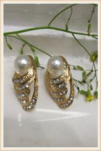 2017 fashion jewelry earring revolve Design Style Jewelry Alloy 18k Plated characteristic earring stud