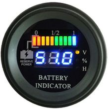 Roud Battery discharge indicator