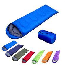 Outdoor Camping Ultra-light Sleeping Bag Travel Hiking Lightweight Backpacking Envelope Sleeping Bag Liner Cotton Polydown Sleeping Bag